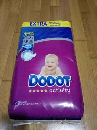 Pañales Dodot Activity T3 + ( 60 unidades )