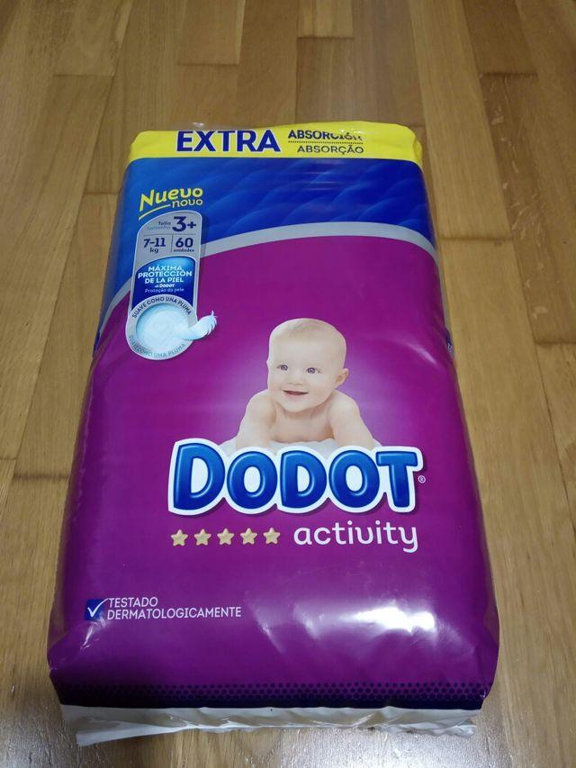 Lote Pañales Dodot Activity T3 + ( 60 unidades )