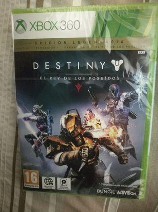 Destiny legendaria juego xbox360 nuevo precintado