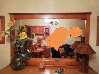 Mueble aparador con espejo