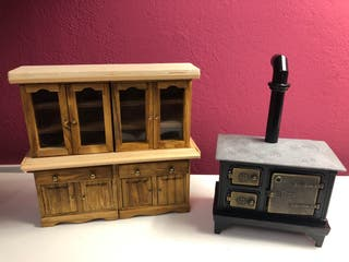 Lote muebles miniatura