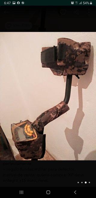detector de metales garrett ace 250 con 3 platos.