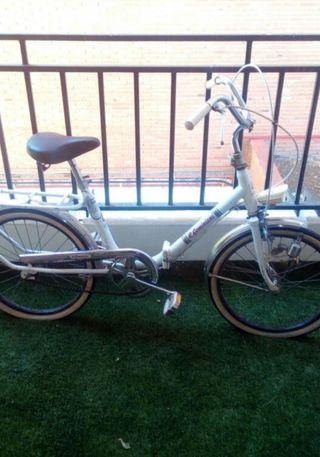 bicicleta r.geminiani 600A plegable