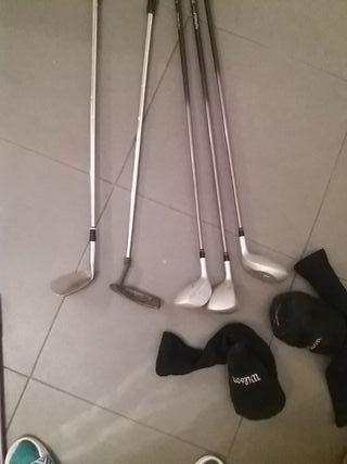 Palos de Golf mujer y bolsa
