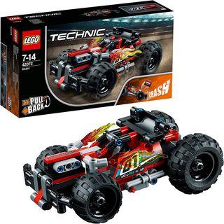 LEGO Technic DERRIBA! Coche Rojo (42073)