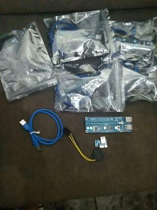 5x Cable Riser 60cm