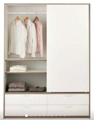 Armario doble IKEA TRYSIL