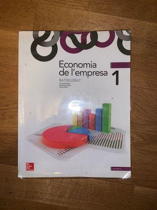 LIBRO ECONOMIA DE LA EMPRESA 1 BACHILLERATO