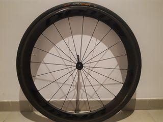 Juego de ruedas de carbono.
