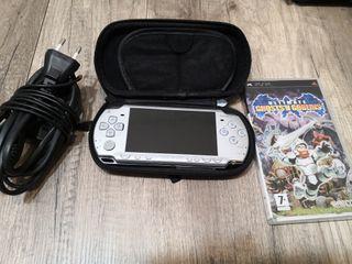 Pack PSP Slim + Ghosts'n Goblins + extras