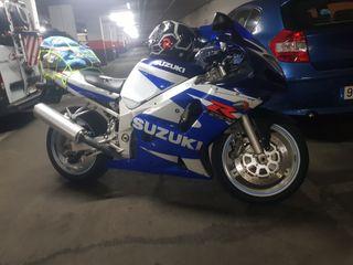 suzuki gsxr 600cc año 2002