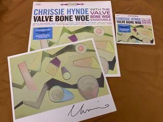 CHRYSSIE HYNDE VALVE BONE Disco vinilo LP Firmado