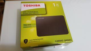Disco duro Toshiba 1TB USB 3.0 350h de uso PE