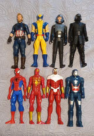 Lote muñecos superhéroes