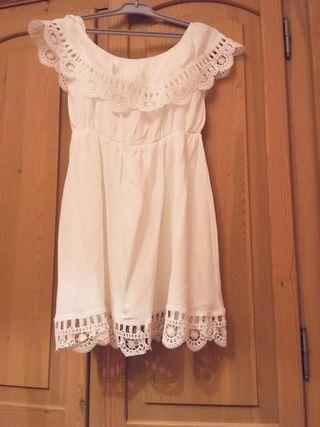 Vestido Blanco veraniego sin estrenar talla M-L