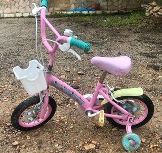bicicleta pepa pig