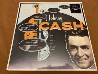 JOHNNY CASH WITH HIS HOT & BLUE Disco vinilo LP
