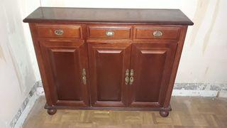 mueble calidad hall aparador madera macizo