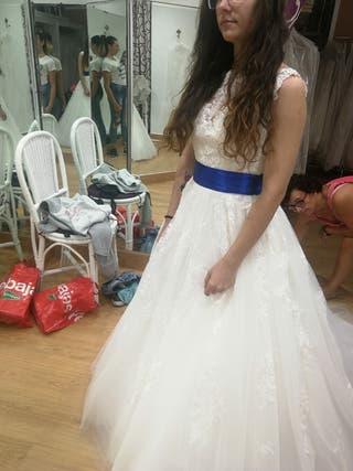 vestido boda novia