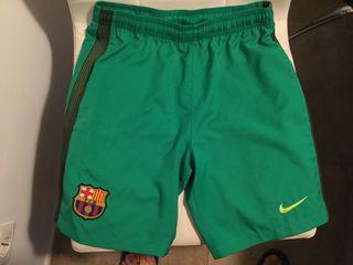 Pantalon futbol FC Barcelona marca Nike de niño