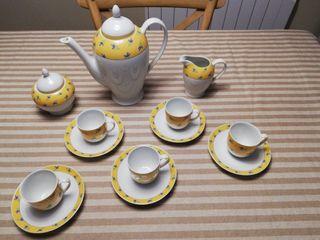 juego de cafe porcelana