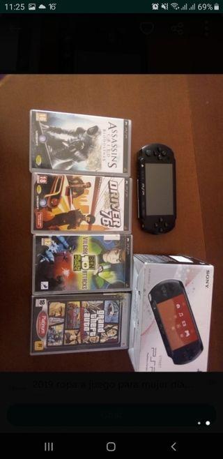 PSP street con varios juegos