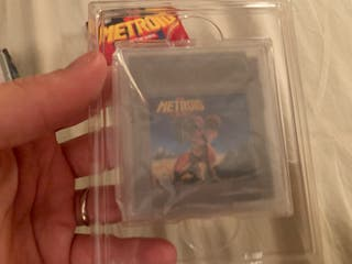 Nintendo game boy METROID 2 II