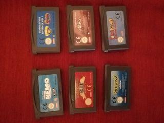 Juegos Gameboy Advance SP