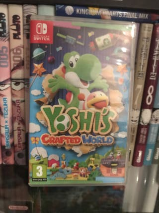Yoshi Crafted Word Nintendo Switch