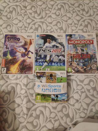Pack Juegos Nintendo Wii