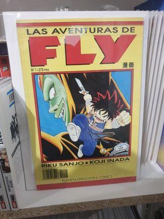 Las aventuras de Fly 47 números de 50