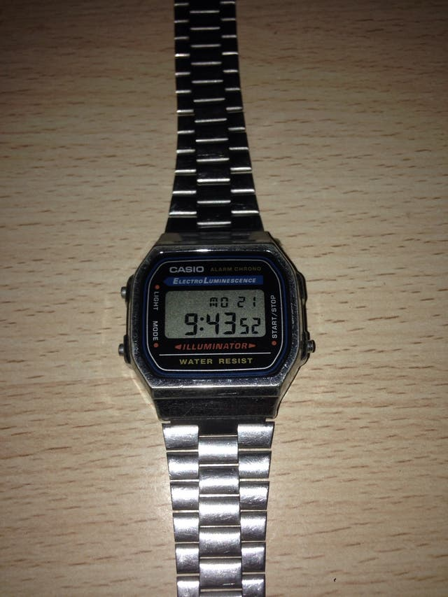 Reloj Casio Electro Luminescene
