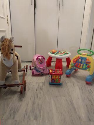 Lote de juguetes de primeras marcas