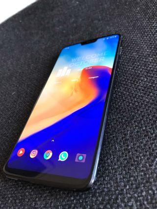 OnePlus 6 - 128GB - Negro (Libre) (Dual SIM)