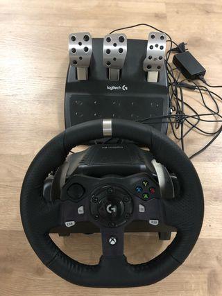 Volante Logitech para Xbox one G920