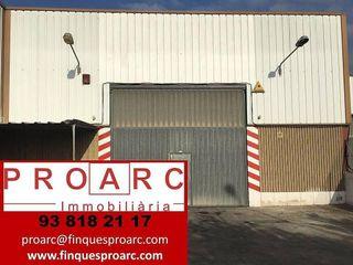 Nave industrial en alquiler en Pol. industrial Domenys en Vilafranca del Penedès