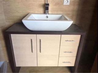 Mueble + grifo y lavabo