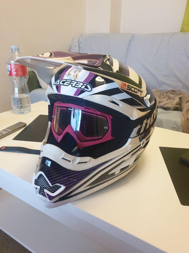 equipacion motocross mujer
