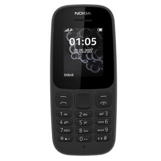 TELEFONO NOKIA 105 NEGRO-2G-HABLA 12H-FM-DUAL SIM