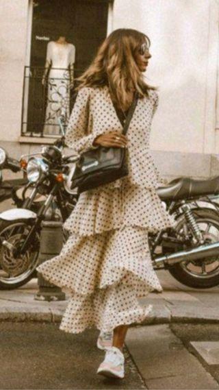 Vestido Agotadimo Zara Influencers