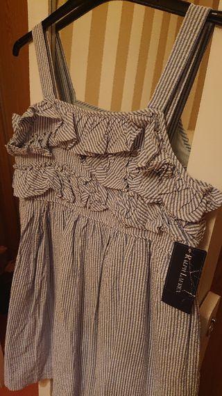 nuevo vestido Ralph lauren talla 14 niña Pvp 90€