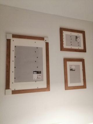 Cuadros marcos de Ikea