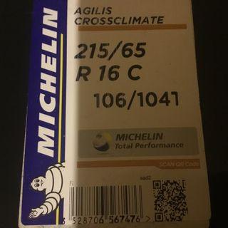 Michelin AGILIS CROSSCLIMATE todo tiempo M+S