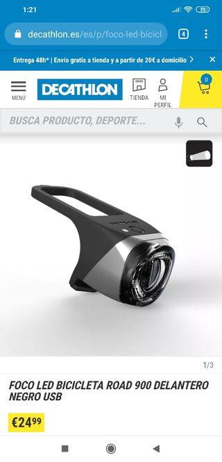 linterna para bicicleta de alta calidad