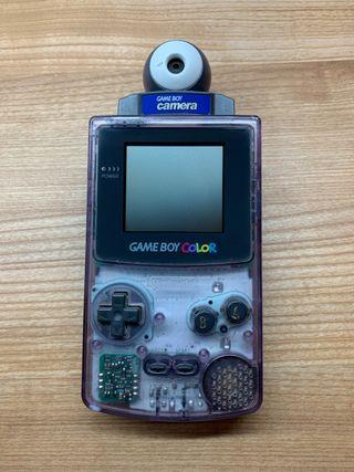 GameBoy Color + GameBoy Camera