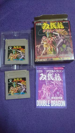 2 cartuchos Double Dragon gameboy