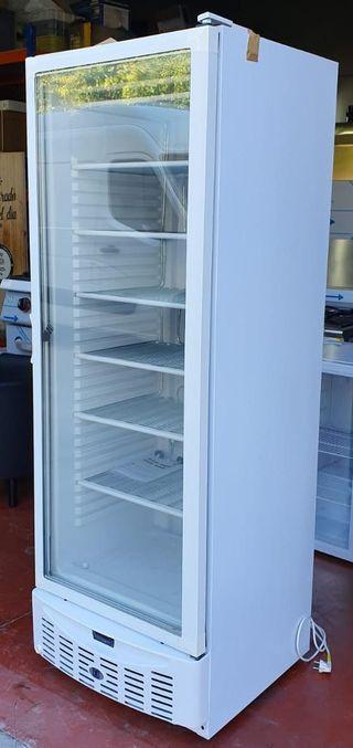 Vitrina expositora de congelación puerta cristal