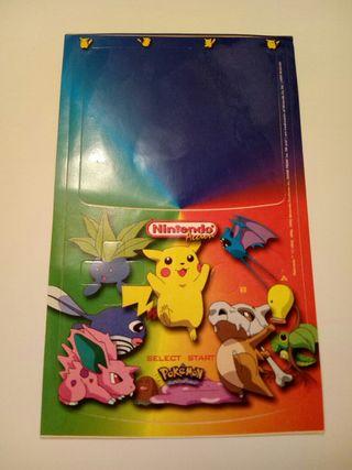Pegatina Pokemon Nintendo Acción