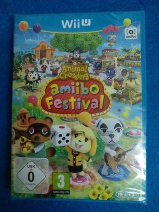 Wii U - Animal Crossing Amiibo Festival (NUEVO)