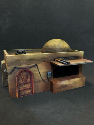 Casa tatooine legion escenografía 3D